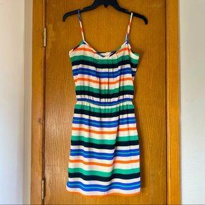 Striped Mini Dress - Size XS